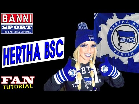 HERTHA BSC BERLIN German Football League - Exklusiv Fan Style Make-up