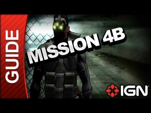 Tom Clancy's Splinter Cell Walkthrough - Mission 4B - CIA HQ |