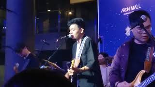Underwater Rendy Pandugo in Java Jazz On The Move 2019 at AEON Mall BSD