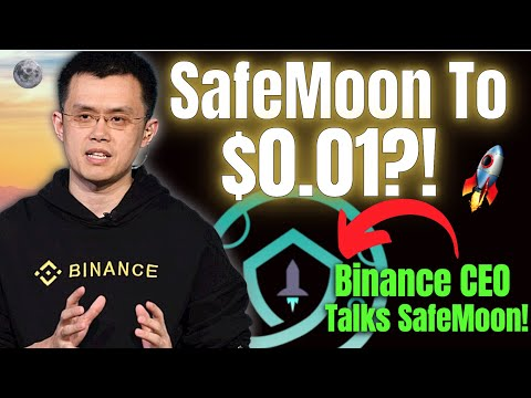 How SafeMoon Could Hit $0.01! Boom Coming After Binance CEO ACTUALLY Talks About