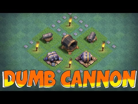 "I HATE CANNONS!!! ""Clash Of Clans"" NEW ATTACK STRAT!!"