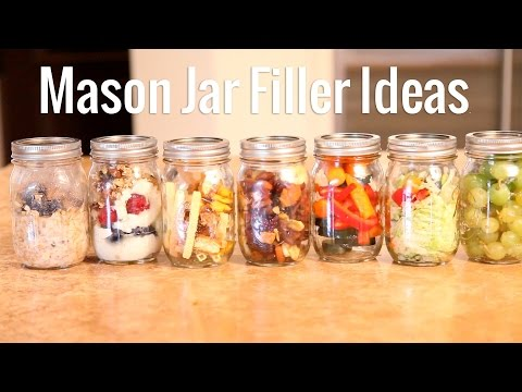 7 Mason Jar Healthy Meal Ideas