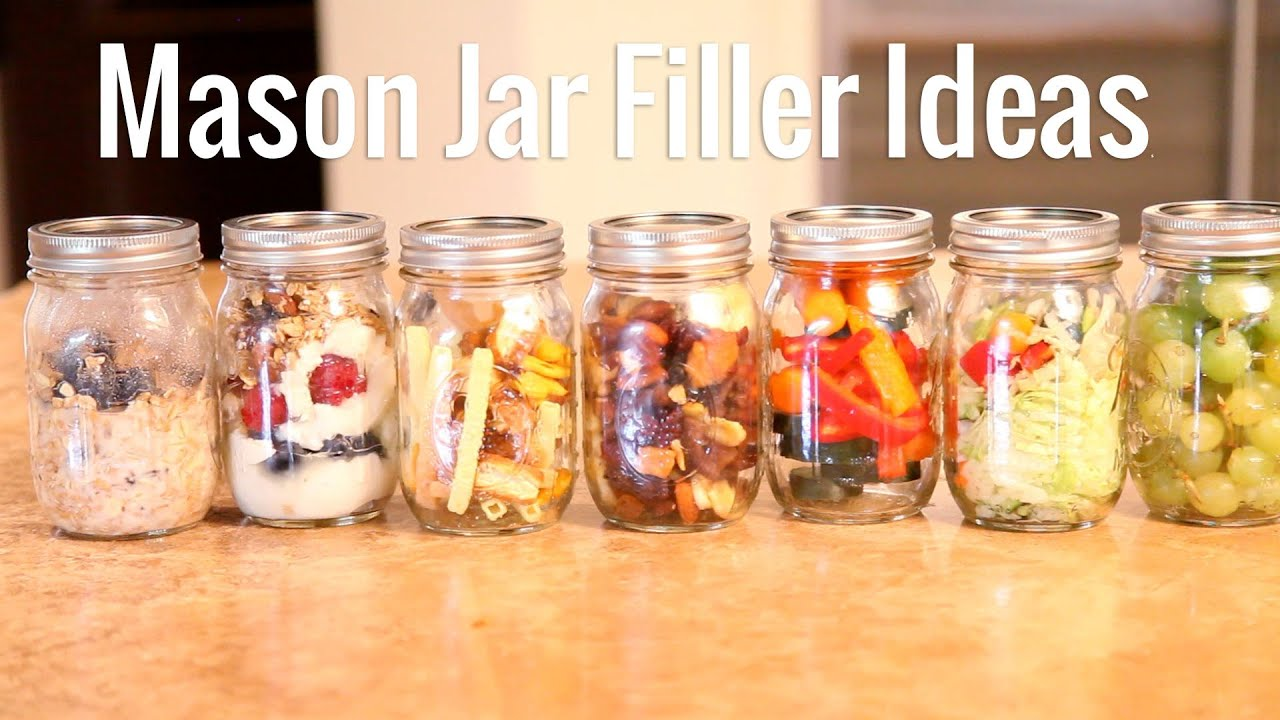 7 Mason Jar Healthy Meal Ideas Youtube