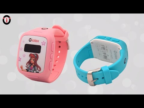 Watch on gps tracking device for kids