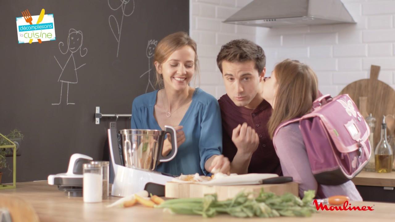 Cuisinez pour 4 avec volupta de moulinex youtube - Robot cuiseur volupta moulinex avis ...