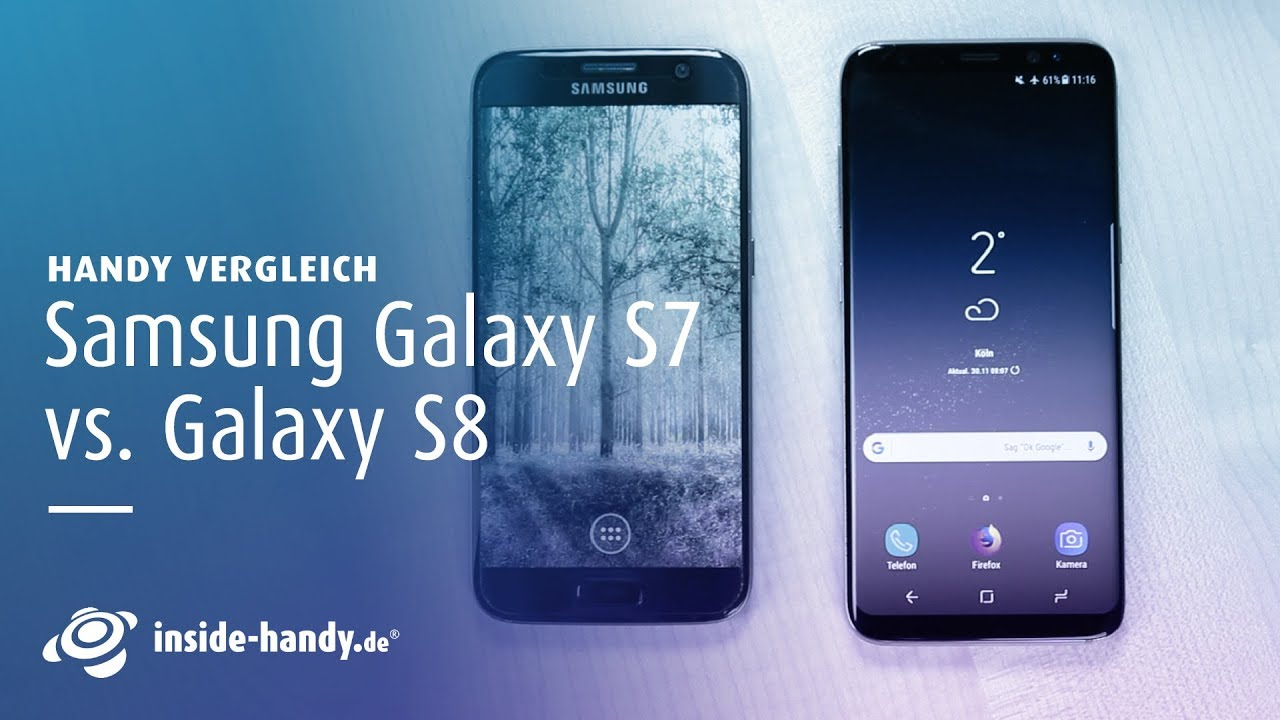 vergleich samsung galaxy s8 vs galaxy s7 deutsch youtube. Black Bedroom Furniture Sets. Home Design Ideas