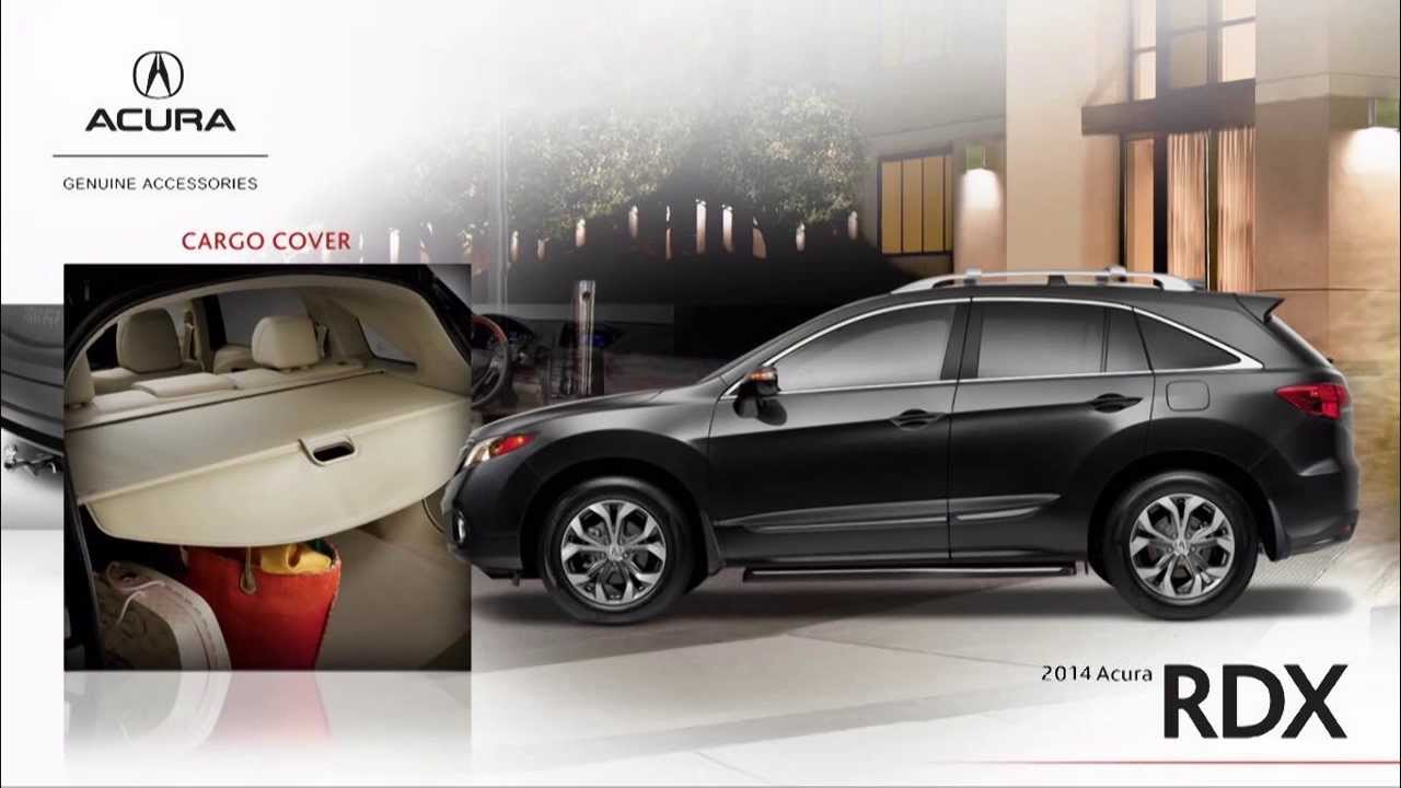 Acura RDX Accessories YouTube - Acura accessories rdx