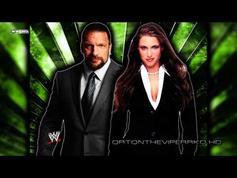 "WWE: Triple H and Stephanie McMahon Theme Song - ""My Time"" [CD Quality + Lyrics]"