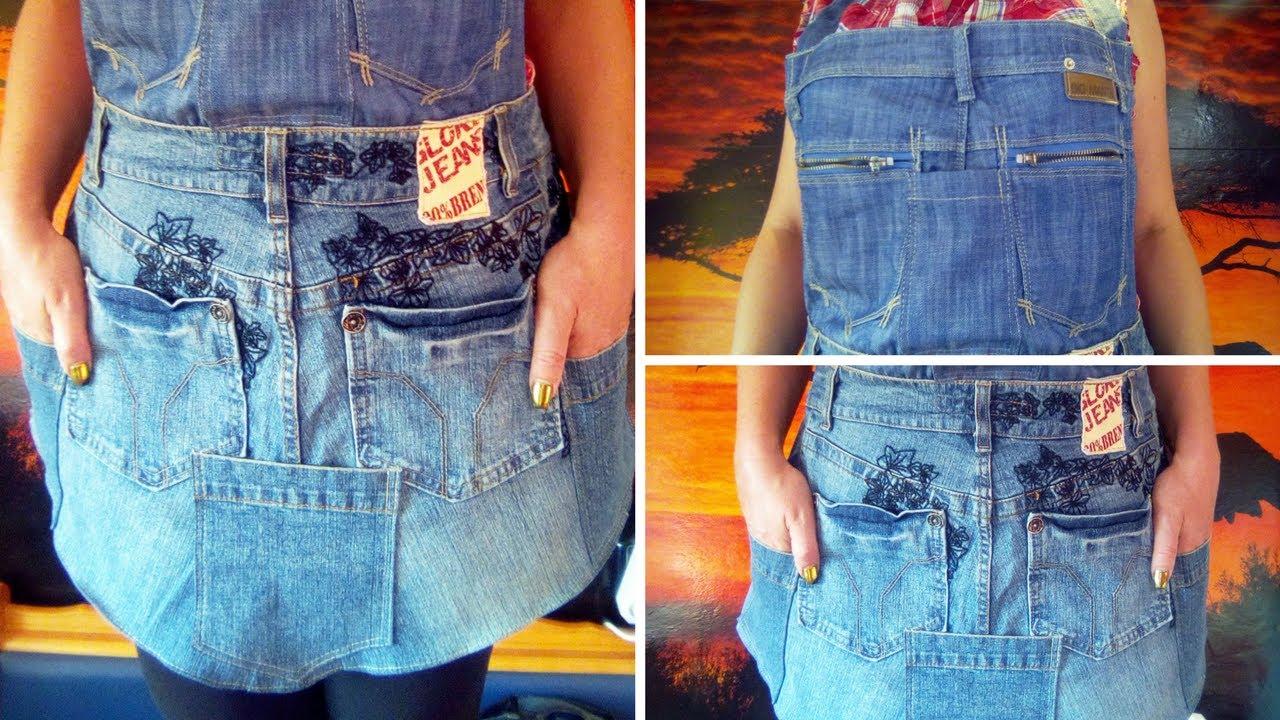 Из старых джинс своими руками мастер класс