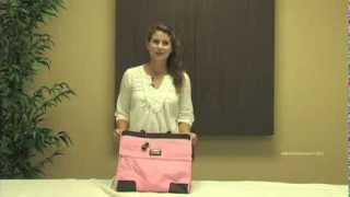 Overland Travelware Ladies' Long Beach Satchel Tote Bag Thumbnail