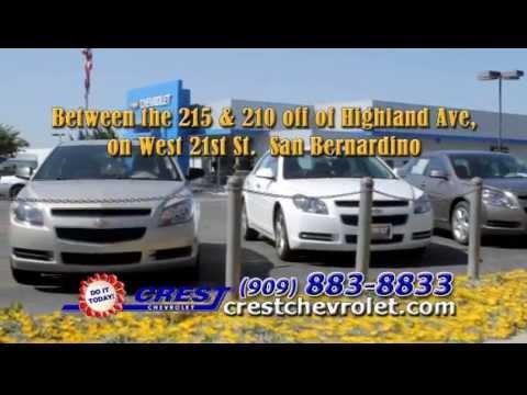Crest Chevrolet San Bernardino California