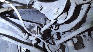 Замена сайлентблоков заднего поперечного короткого рычага Mitsubishi Outlander