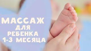 как правильно сделать массаж грудному ребенку