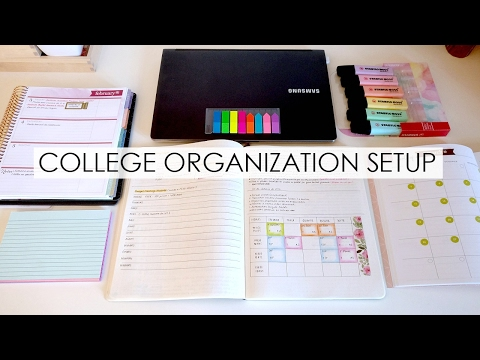 College Organization Setup