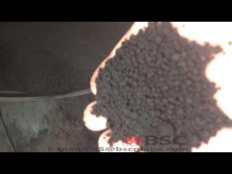 Pan Granulator Testing Video - Producing organic fertilizer