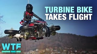 Lazareth's transforming flying motorcycle can hover | What the Future