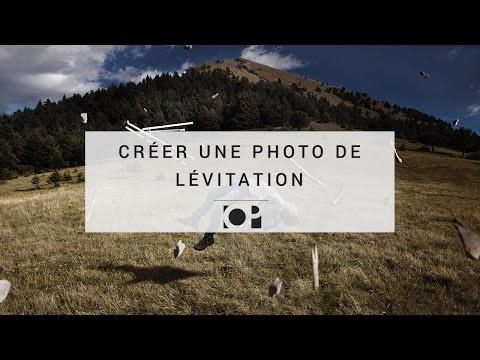 Créer une photo de lévitation