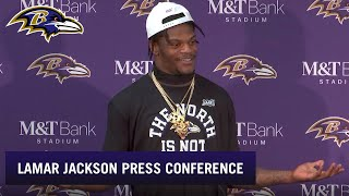 Lamar Jackson Talks About His Record-Setting Night