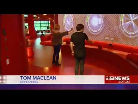Red Zone Griffith University on Nine News