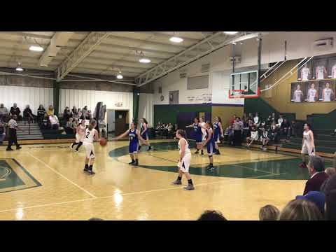 MHMS Lady Hawks at Hendersonville Christian Academy 2/1/19 3rd Qtr