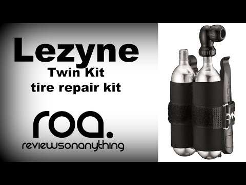 LEZYNE Twin-kit Tire repair and CO2 review