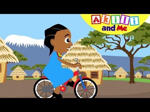 Tuendeshe Baiskeli! | Nyimbo za Akili and Me | Katuni za Kuelimisha