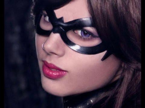 Last Minute DIY Halloween Batgirl Costume  sc 1 st  YouTube & Last Minute DIY Halloween Batgirl Costume - YouTube