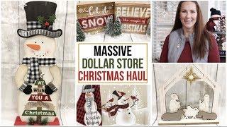 MASSIVE DOLLAR STORE CHRISTMAS HAUL | DOLLAR TREE HAUL | DOLLAR GENERAL HAUL