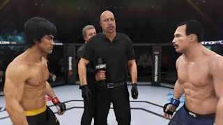 Bruce Lee vs. Big Boss (EA Sports UFC 3) - CPU vs. CPU