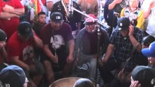 Meskwaki Nation  - Thief River - Friday Night Song 1 May 2015