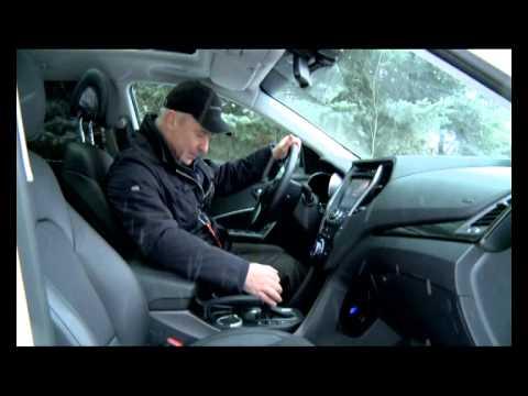 Тест драйв Hyundai Santa Fe.2014 про.Движение Хёндэ