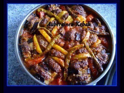 Auberginen Kebab-Patlican kebabi-Türkische Rezepte
