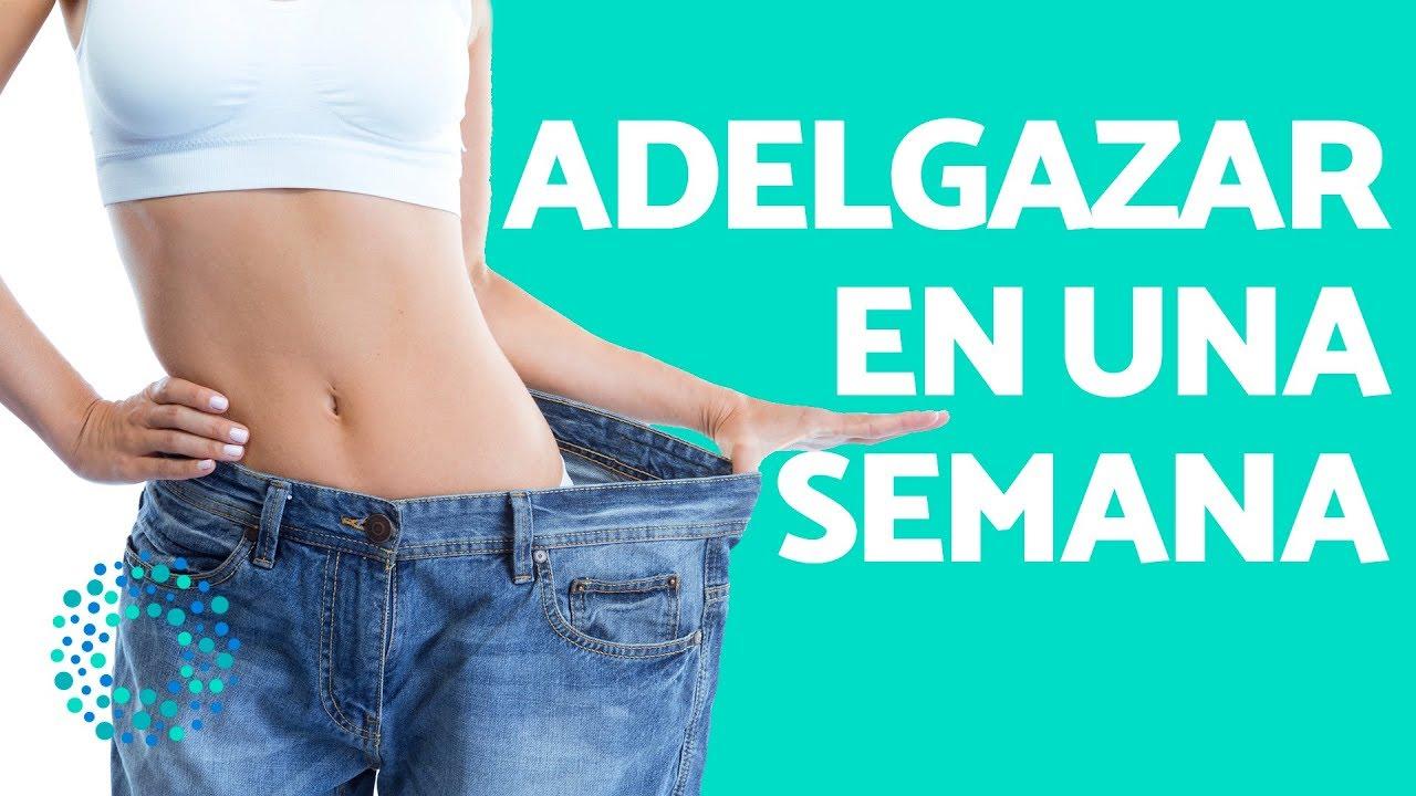 dietas para bajar de peso en una semana 5 kilos is how many pounds