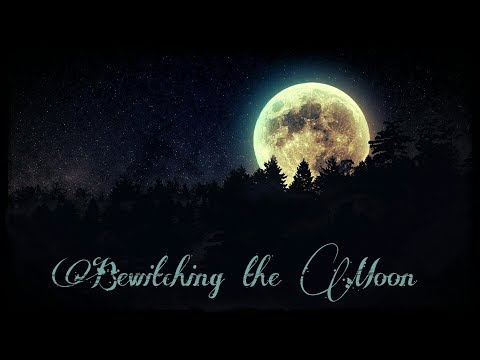 Bewitching the Moon August 7, 2017- Depression, lunar eclipse, tarot notebook, transformation oil