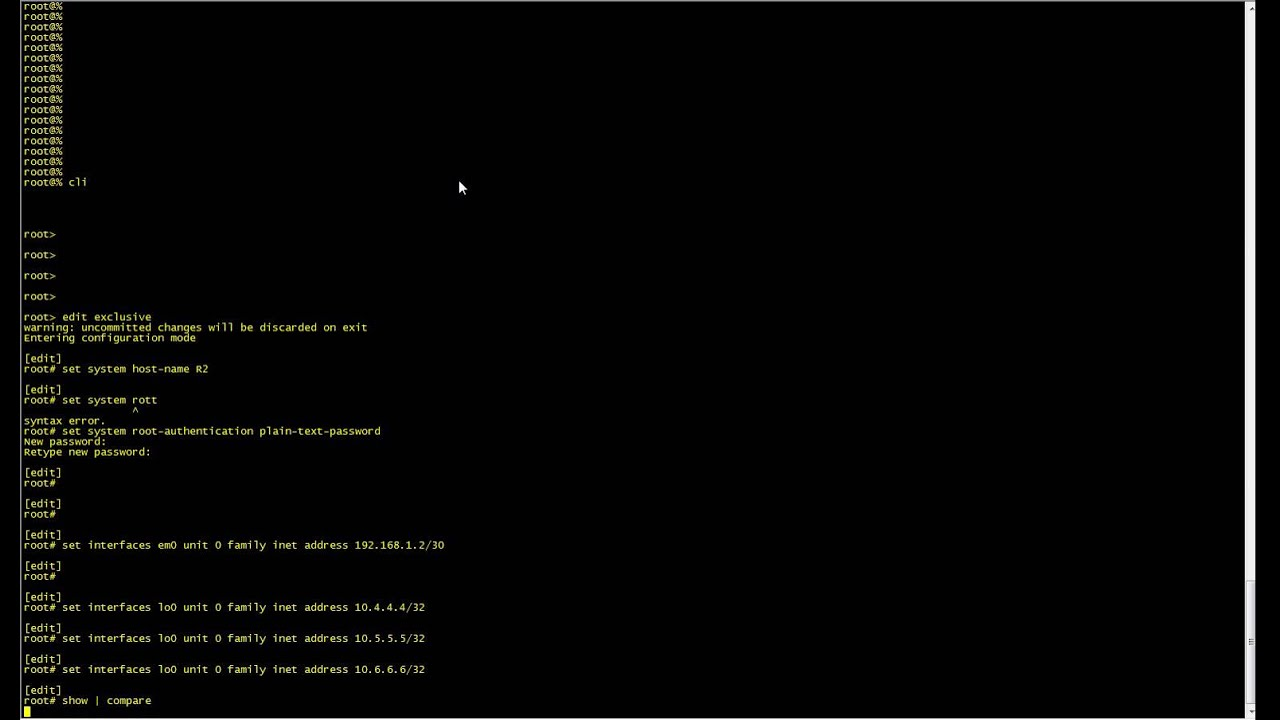 How to Configure Static Routes on Juniper Devices in GNS3