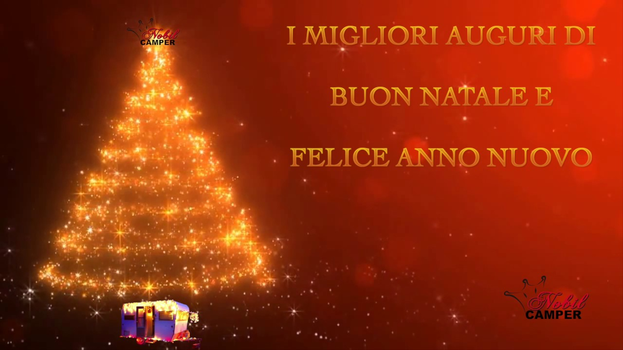 Auguri Di Buon Natale Felice Anno Nuovo.Auguri Di Buon Natale E Felice Anno Nuovo Youtube