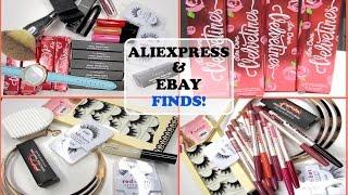AliExpress & Ebay Haul #1 | M.A.C., LimeCrime, Sigma, TARTE, NARS, Eyelashes |