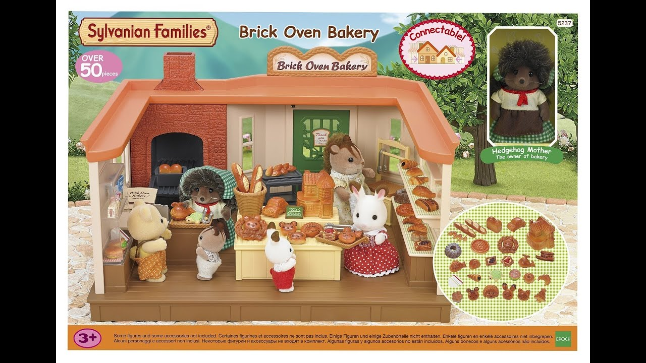 Brick Oven Bakery Sylvanian Families Unboxing Review Youtube