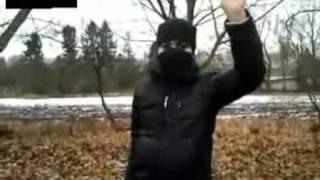 شاب سوري بطل يهدد بشار الاسد من روسيا