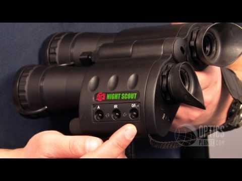 ATN Night Scout Night Vision Binocular - OpticsPlanet.com
