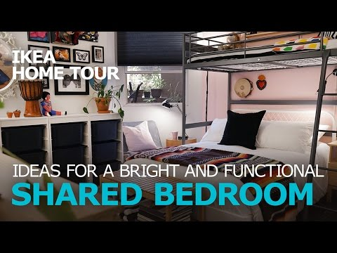 Shared Bedroom Ideas (Extended) - IKEA Home Tour (Episode 305)
