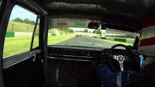 Alfa Romeo Giulia Super v. Mallory Park ARMCO (AROC race 6 - 290712)