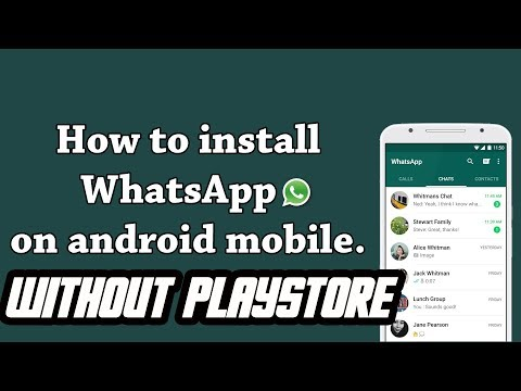 How To Download Whatsapp Without Playstore On Android