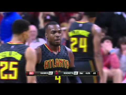 Atlanta Hawks vs Houston Rockets | December 29, 2015 | NBA 2015-16 Season