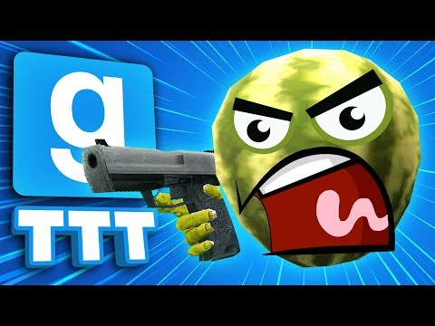 I'M A MELON... FIGHT ME!! | Gmod TTT