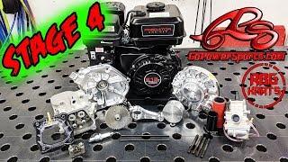 Predator 212 Stage 4 Engine Build ~ 22HP Go Kart / Mini Bike Engine