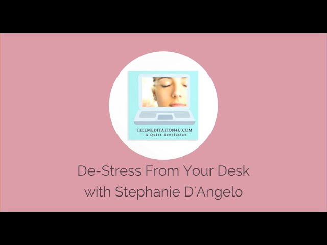 Releasing the Diaphragm- De-Stress From Your Desk Series #60