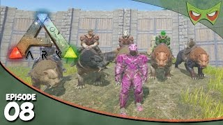 Ark Survival Evolved - S2 Ep. 8 - Taming a Sabertooth - Let's Play On Pooping Evolved
