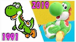 ヨッシーゲーム 進化の軌跡 【ヨッシークラフトワールド までのシリーズ歴代作品ダイジェスト】 | Evolution Yoshi Game