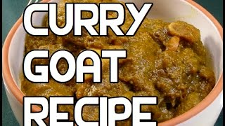 Jamaican Curry Goat Recipe - Curried
